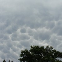 Strange Cloud Formations and Yankee Gutter Repair Updates