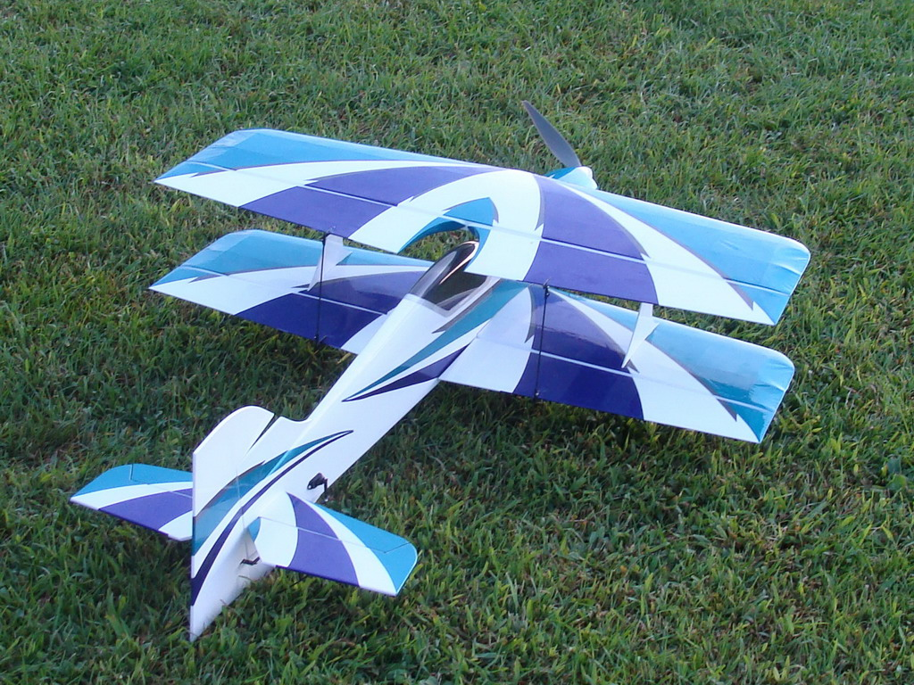 Electrifly Reactor Biplane