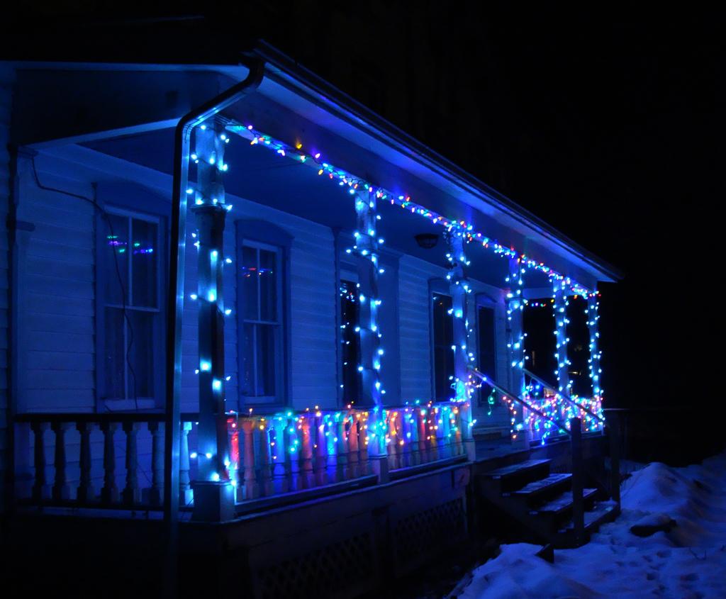 Easy Way To Put Lights On A Christmas Tree