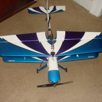 Reactor Biplane with FPV Hardware Flys